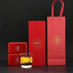 瓯叶红茶 简朴系列 武夷山桐木关正山小种 小种红茶 130g 礼盒装