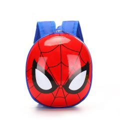 幼儿园双肩包蜘蛛侠卡通蛋壳儿童背包男女宝宝小孩书包1-3-4-5岁