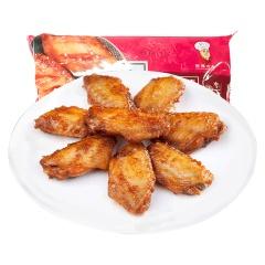 新雅烧烤鸡翅中225g*2盒 速冻新鲜生鸡翅膀烤箱微波腌制烧烤食材