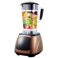 欧博(OPO)2008D 破壁料理机不锈钢多功能家用榨汁机原汁机豆浆机咖啡色